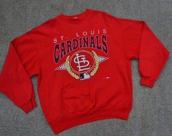 Big Time Ballin' Vintage 1993 St Louis Cardinals Baseball Sweatshirt / XL