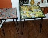 "22"", hairpin legs, metal table legs, mid century modern.set of 4,loft furniture ,industrial table legs,table base,end table,coffee table,leg"
