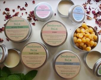 Gift Pack - Natural Deodorant Balm - 80gm & 30gm - Aluminium free