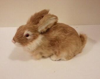 Furry Rabbit Decoration
