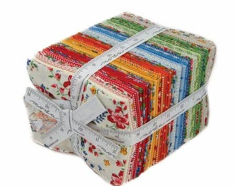 Spring-A-Ling Fat Quarter Pack (34) by American Jane for Moda