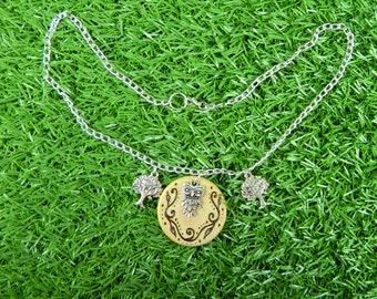 Hoo Else Loves Owls Tree Necklace