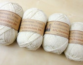 BFL/Swaledale cross (mule) DK 50g Ethically produced British wool, natural and undyed. 110 metres/120 yards
