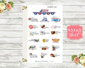 Celebrate July Planner Stickers - Special Days Stickers - National Holiday Stickers - Wacky Holiday Stickers - Holiday Planner Stickers