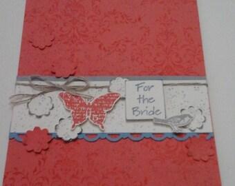 Romantic Bridal shower card