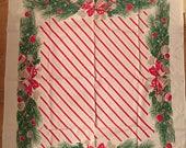 Christmas tablecloth 1950's