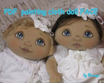 PDF Painting cloth doll face tutorial, how I paint my cloth doll face by Fiorenza Biancheri