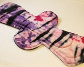 "Reusable Cloth Pad - 13"" (33cm) Overnight/Postpartum - Cherry Blossom OBV"