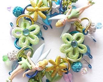 Tinker bell bracelet/Disney/Beadiebracelet