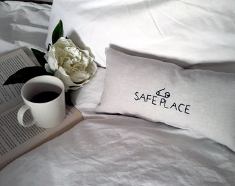 Safety Pin Pillow - Safety Pin Movement - Safe Place Pillow - Safety Pin Decor - Solidarity Decor - Ally - Christmas Gifts - Gifts For Him
