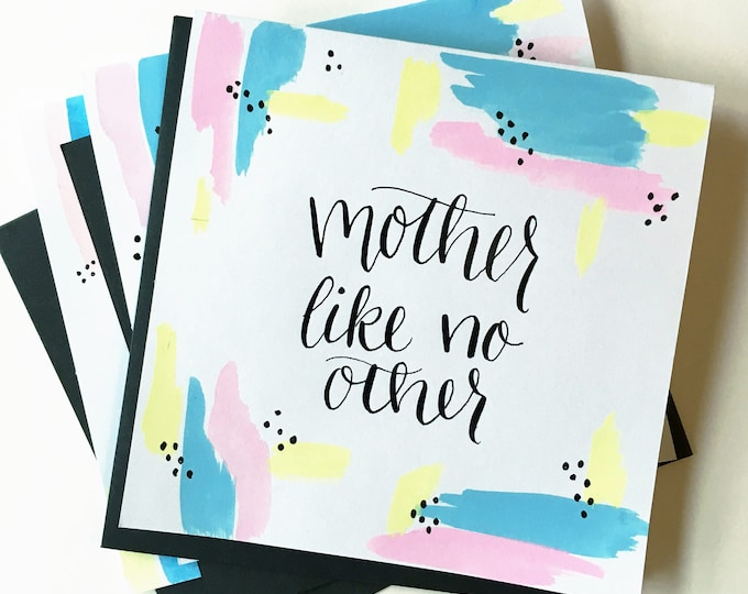 Featured listing image: Mother Like No Other card