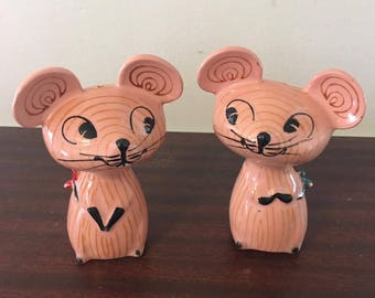 Holt Howard Merry Mouse Salt and Pepper Shakers