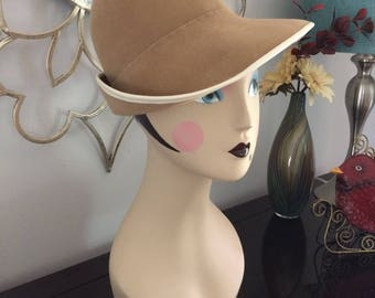 Vintage Dachettes hat designed by Lilly Dache