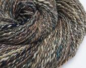Reserved for Bethann - Flannel Shirt - Handspun Merino/SW merino/Bamboo/Muga Silk - DK/LightWorsted Yarn - 2.2oz/62gr/138 yards