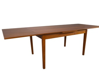 8ft Teak Dining Table Danish Mid Century Modern
