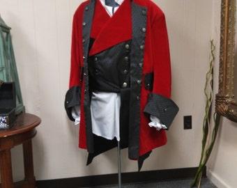 Entire Pirate outfit, sca, larp, reenactment, ren faire, costume, rogue