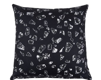 CHIPS Black Cushion from Florrie+Bill