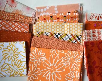 Twelve ounce orange fabric bundle