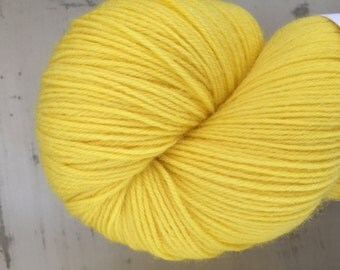 Yolk -100grams Superwash  4 ply yarn  'Yolk ' -