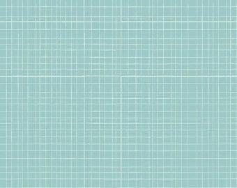 (Only) crib skirt, mesh aqua (blue)
