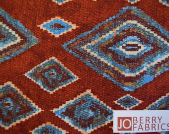 Southwestern Roundup Collection by Fabric Quilt.  Quilt or Craft Fabric, Fabric by the Yard.