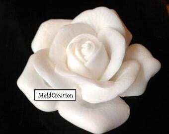 Silicone soap mold Rose