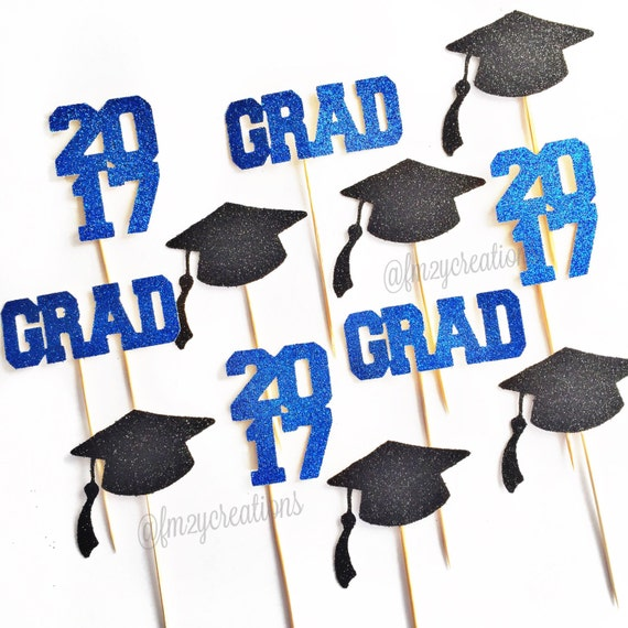 2018 cupcake toppers graduation graduation party cupcake toppers