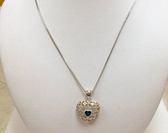 925 Sterling Silver Heart Pendant!!!