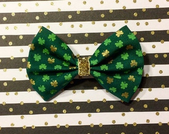 St. Patty's Day bow