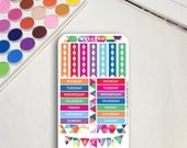 Geometric Planner Sticker...