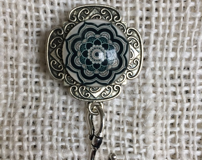 Knitting Pin Kaleidoscope B - Magnetic Knitting Pin for Portuguese Knitting