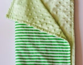 Striped Just Right baby/toddler blanket