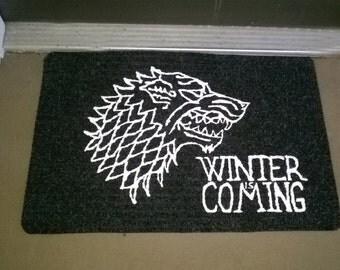 Stark of Winterfell Welcome Mat