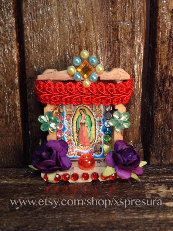 Decoracion De Altar De Virgen De Urkupi?a ~ Coins & Money Collectible Glass Collectible Plates Dolls & Miniatures