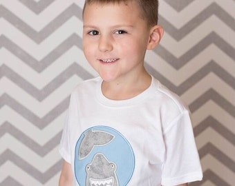 Shark Shirt -  Beach Shirts - Fishing Hats - Boys Shirts - Monogrammed Shirts - Initial Shirts - Custom Shirts - Personalized Shirts