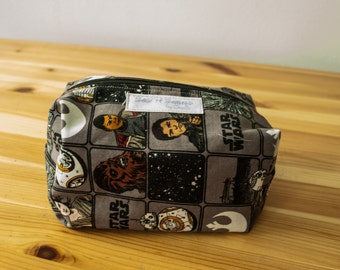 Star Wars The force awakens boxy zip bag-Large