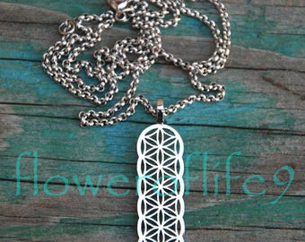Flower of life necklace II - Stainless Steel