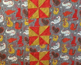 Baby quilts handmade, dragon nursery, homemade quilts, quilts for sale, dragon quilt, baby boy bedding, kids quilts, baby quilts