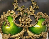 Baroque Emerald Top MADE TO ORDER