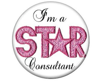 I'm a Star Consultant - Interchangeable Pendant Insert