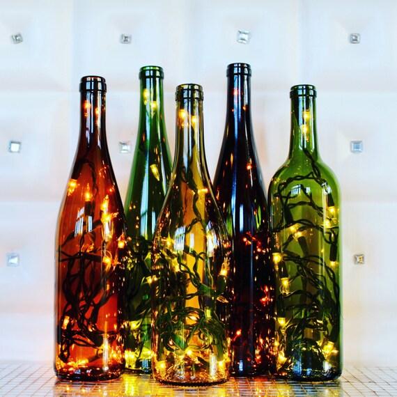 Recycled Wine Bottle Light Wine Bottle Lamp