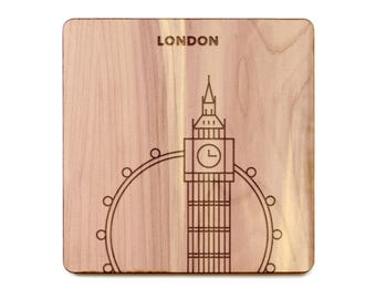 London Coaster - Big Ben and London Eye