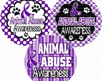 Animal Abuse Awareness Bottle Cap Images 4x6 Bottlecap Collage Scrapbooking Jewelry Hairbow Center