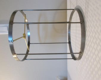 "Wire Lampshade Frame- 8"" x 8"" x 9""   Great for pendant or small lamp shade!"