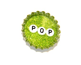 NEW Bottle Cap Magnet - Pop - Single Magnet