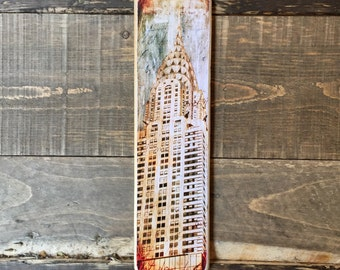 Chrysler Building - 4x15 in.