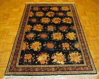 4 x 6 New Hand Knotted Chinese Peking Rug #657