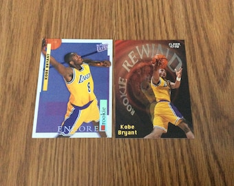 2 Kobe Bryant (Los Angeles Lakers) Basketball Cards