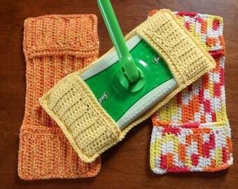 Reusable mop pads