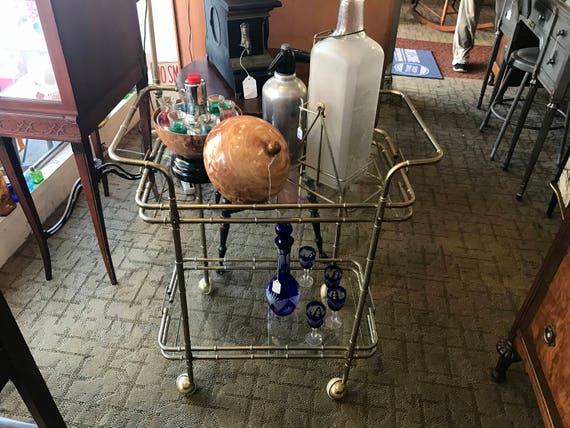 Bar or tea cart trolley